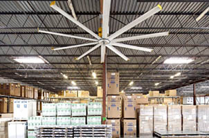 Advantages Of Incorporating Large Warehouse Fans